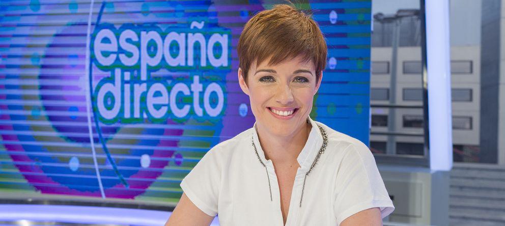 Foto: Marta Solano, presentadora de 'España directo'