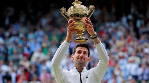 Novak Djokovic gana a Roger Federer en una de las mejores finales de Wimbledon