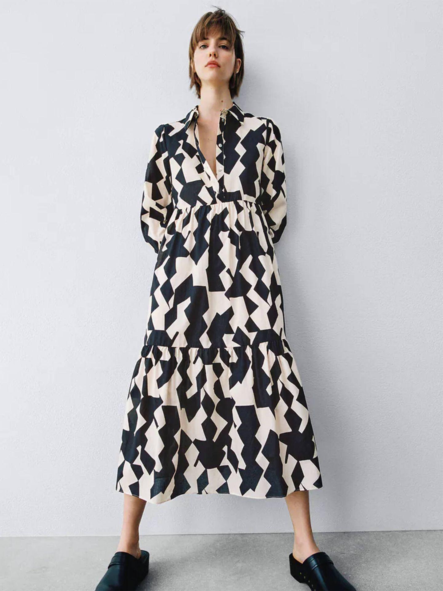 El vestido de Zara que ha conquistado a María F. Rubíes. (Cortesía)
