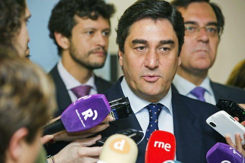 El consejero de Sanidad y Asuntos Sociales de Castilla-La Mancha, José Ignacio Echániz. (EFE)