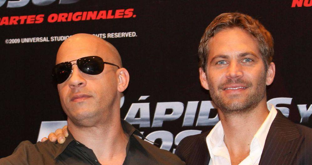 Foto: Vin Diesel y Paul Walker en 2009 (EFE)