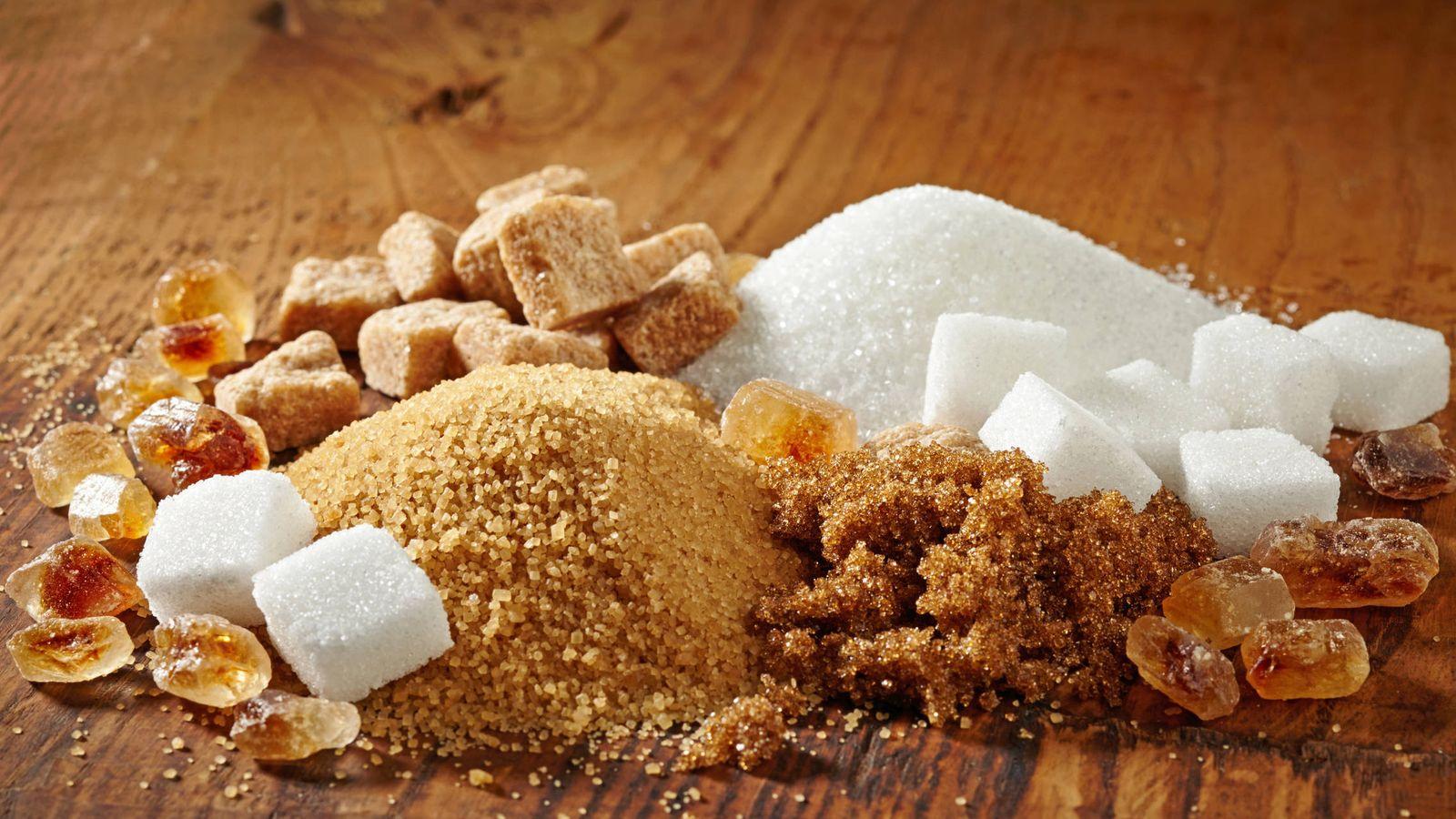 El azúcar no es saludable porque contiene calorías