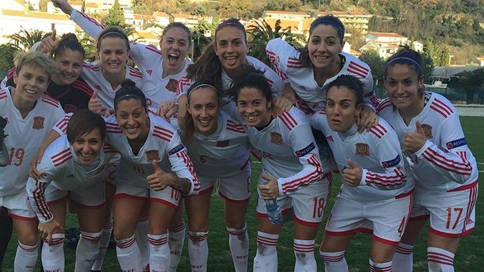 Festival español ante Montenegro en el regreso a la selección de Vero Boquete