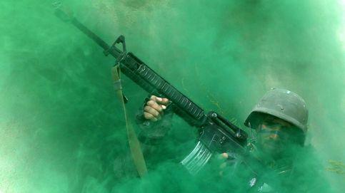 Ejercicios militares en Kabul