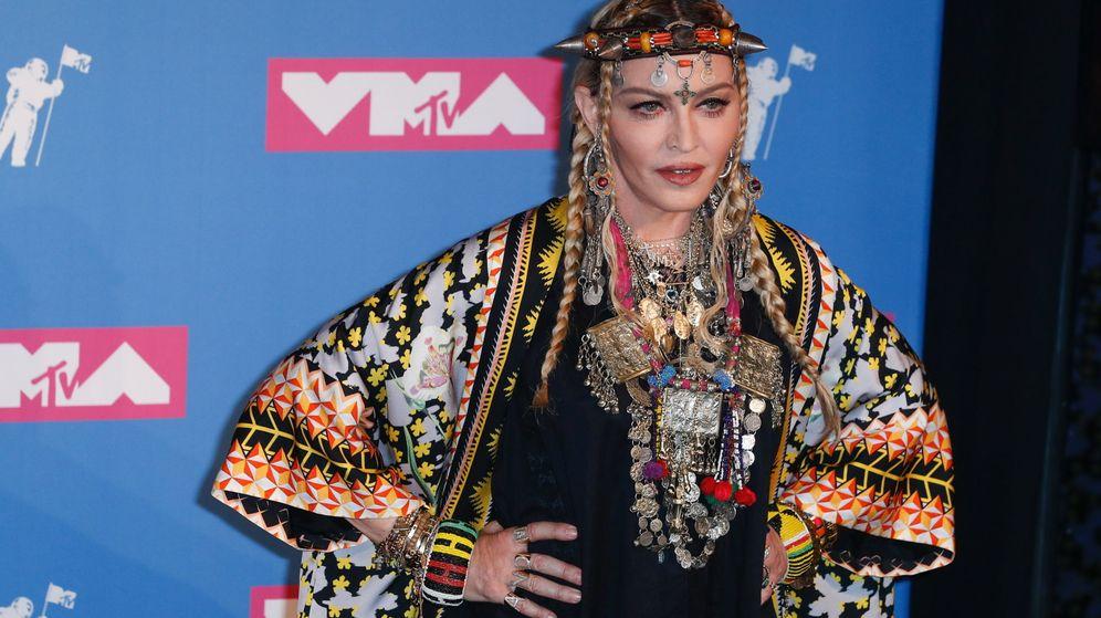 Foto: Madonna en los premios MTV Video 2018. (Efe)