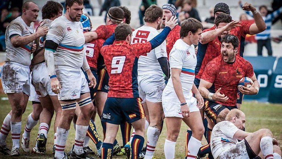España y la proeza de David frente a Goliath en un campo de rugby