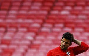 Costa acudió hoy a Las Rozas para controlar la evolución de su lesión