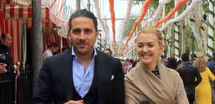 Post de El duque de Alba, Carlos Herrera y Marta Ortega comparten rebujito y flamenco