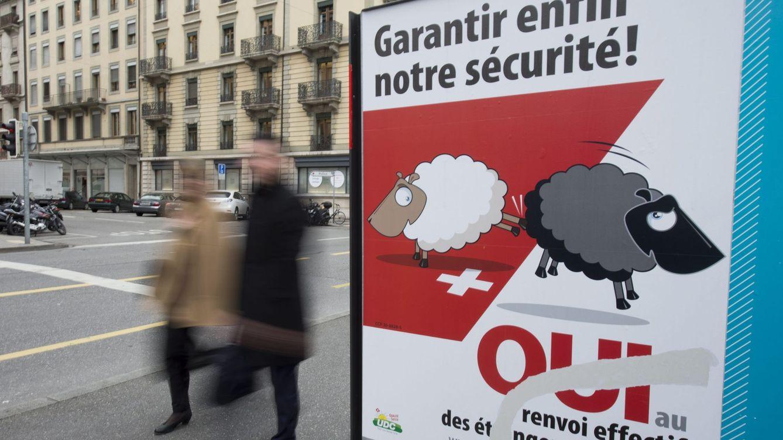 Suiza rechaza endurecer la ley que permite expulsar a extranjeros con delitos