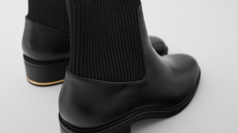 El botín negro más cómodo de Zara que ya se ha agotado (pero volverá)