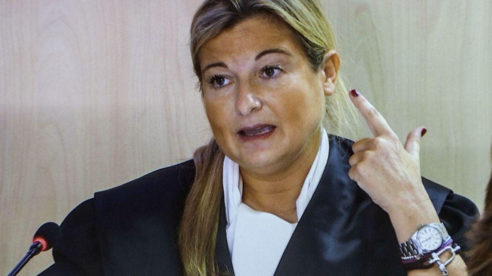 Foto: La abogada de Manos Limpias, Virginia López Negrete, durante su intervención en el juicio del caso Nóos. (EFE)