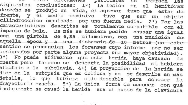 Fragmento del voto particular de la juez De la Vega Llanes en la sentencia de 1996