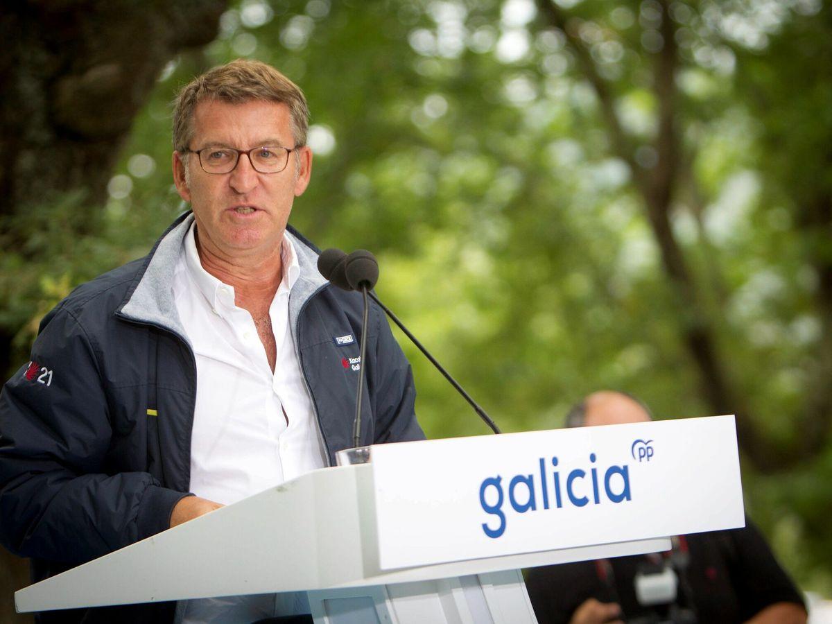 Foto: El presidente del PP gallego, Alberto Núñez Feijóo. (EFE)