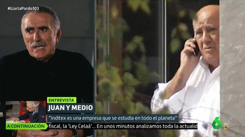 Juan y Medio defiende a Amancio Ortega en el programa de Cristina Pardo