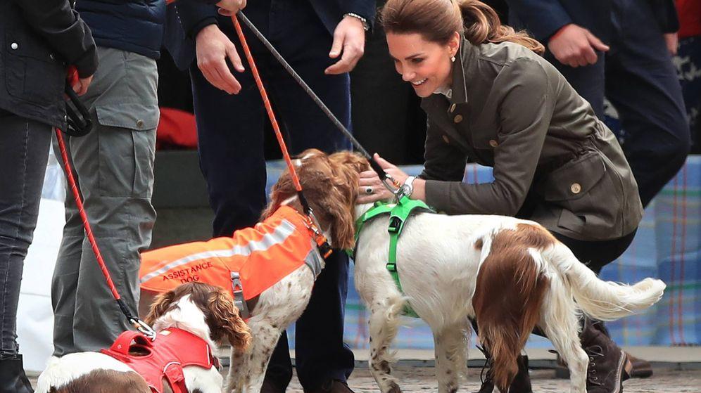 Foto: La duquesa de Cambridge, este martes en su visita a Cumbria. (Cordon Press)