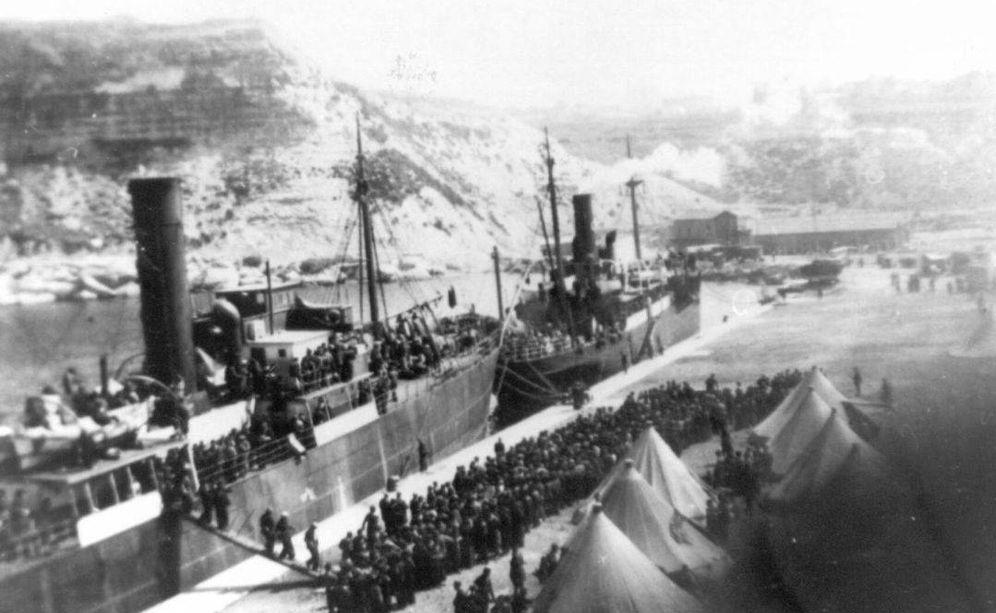 Foto: Apenas 3.000 personas zarparon desde el Puerto de Alicante el 28 de marzo de 1939, a tres días de acabar la Guerra Civil, a bordo del Stanbrook