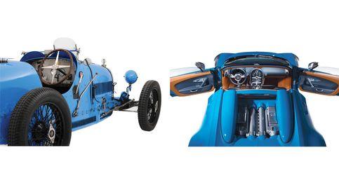De Bugatti a Mercedes: coches de ayer y hoy