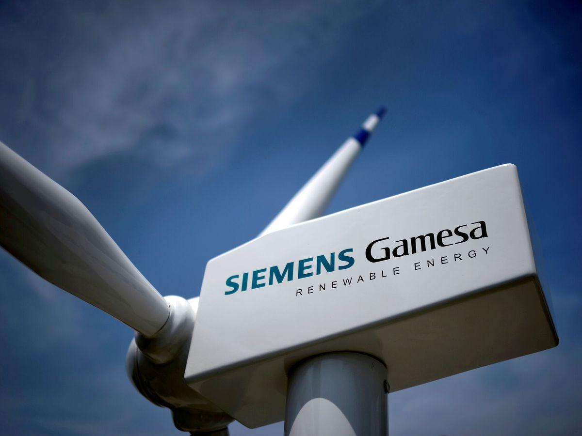 Foto: Aerogenerador de Siemens Gamesa. (Reuters)