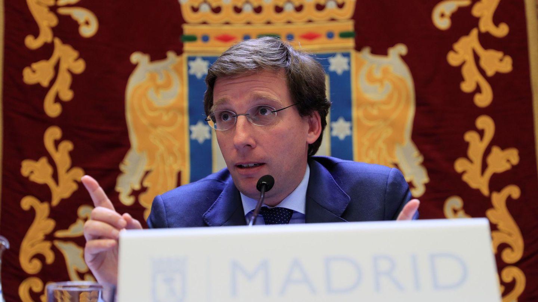 El alcalde de la capital, José Luis Martínez Almeida. (EFE)