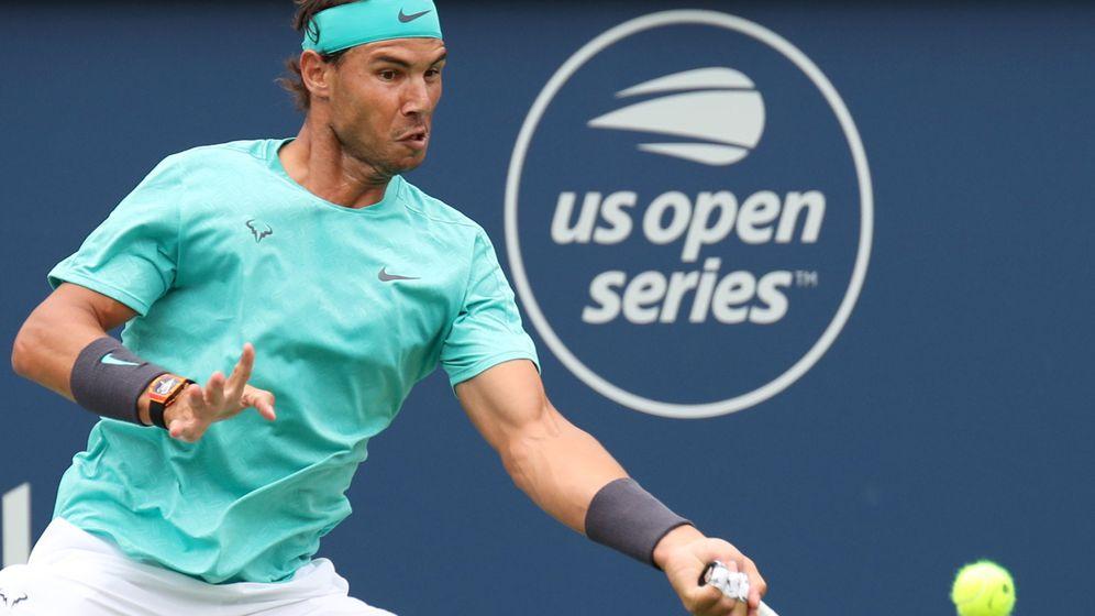 Foto: Rafa Nadal, este miércoles en Montreal. (Reuters)