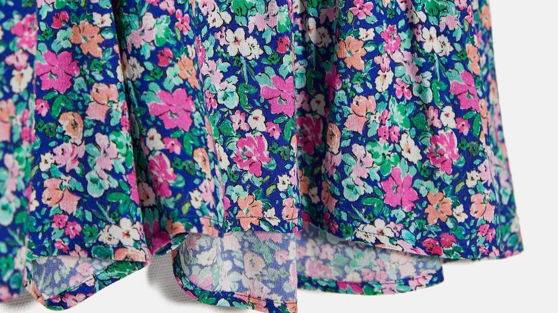 La falda de Zara que ha lucido Chiara Ferragni. (Cortesía)