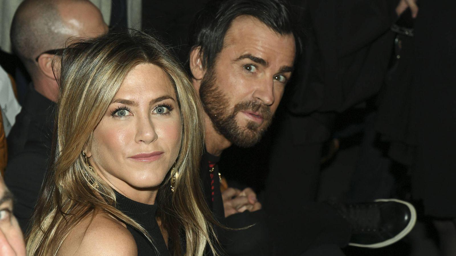 Foto: Jennifer Aniston y Justin Theroux en una imagen de archivo. (Gtres)