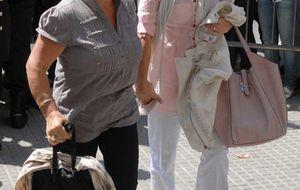Foto: María José Campanario llega a los juzgado