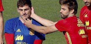 Post de El cachete de Iker Casillas a Gerard Piqué por recordar la 'humillación' en el Bernabéu
