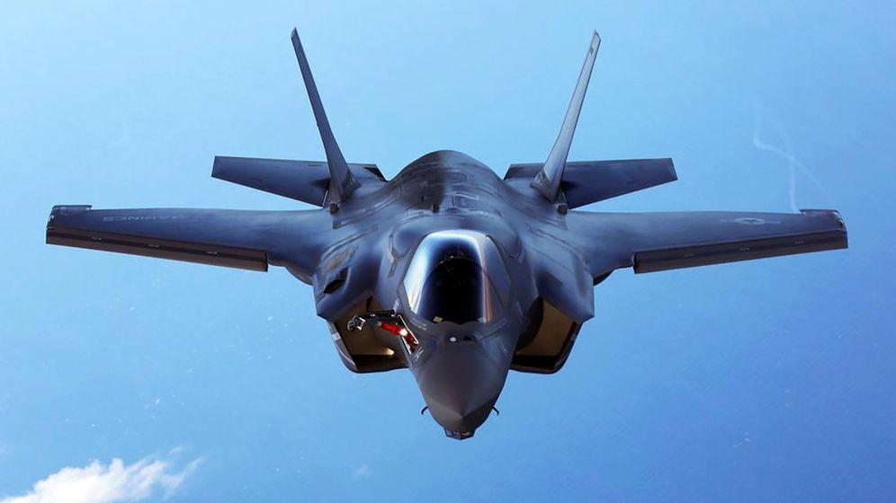 Foto: El caza F-35. (Reuters)