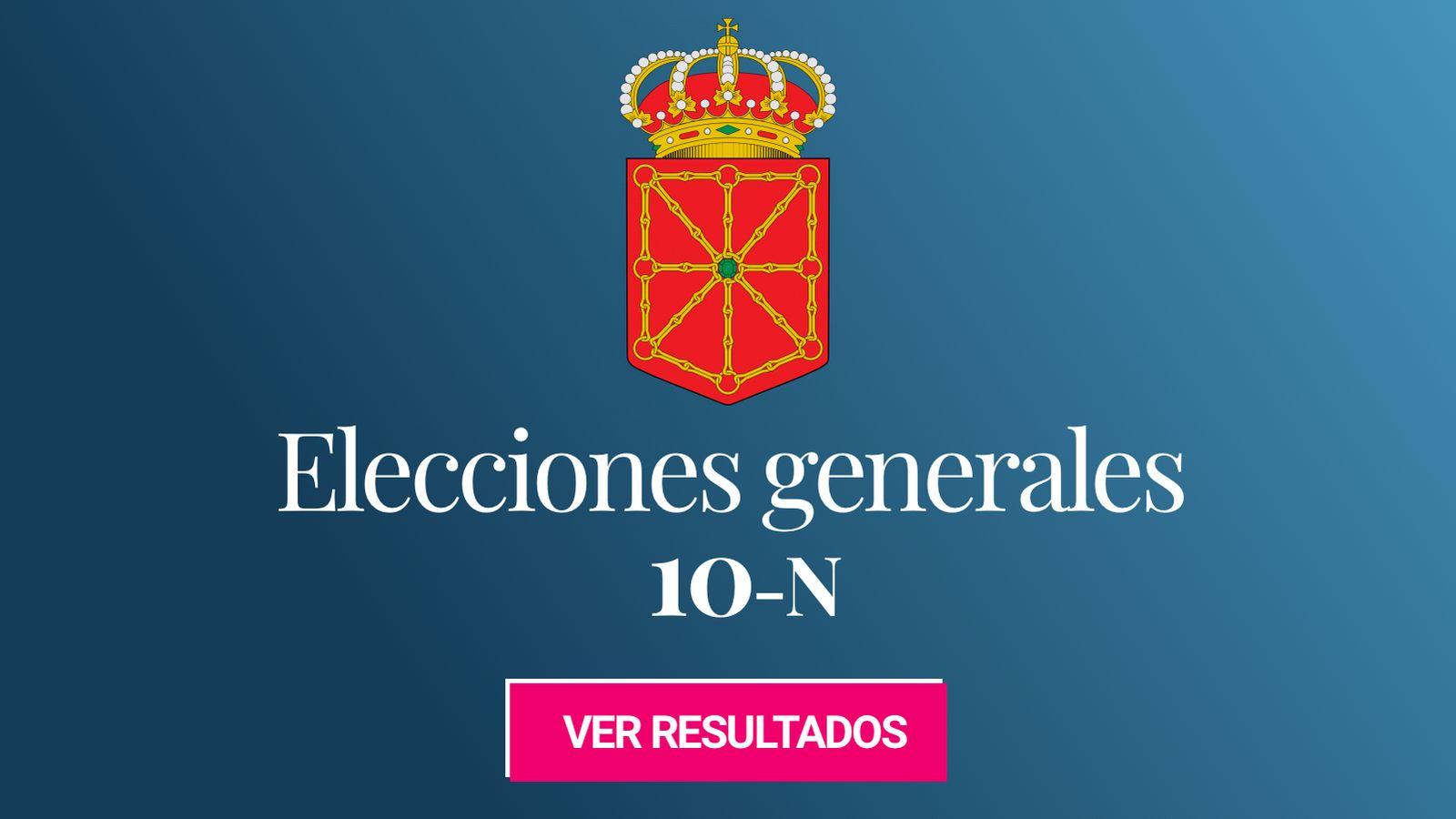 Foto: Elecciones generales 2019 en la provincia de Navarra. (C.C./Miguillen)