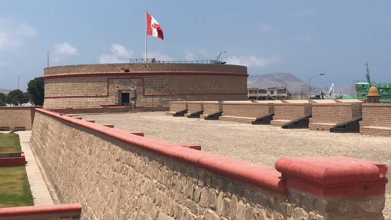 Fortaleza española del Real Felipe, en el Callao, Lima. (J.B.)