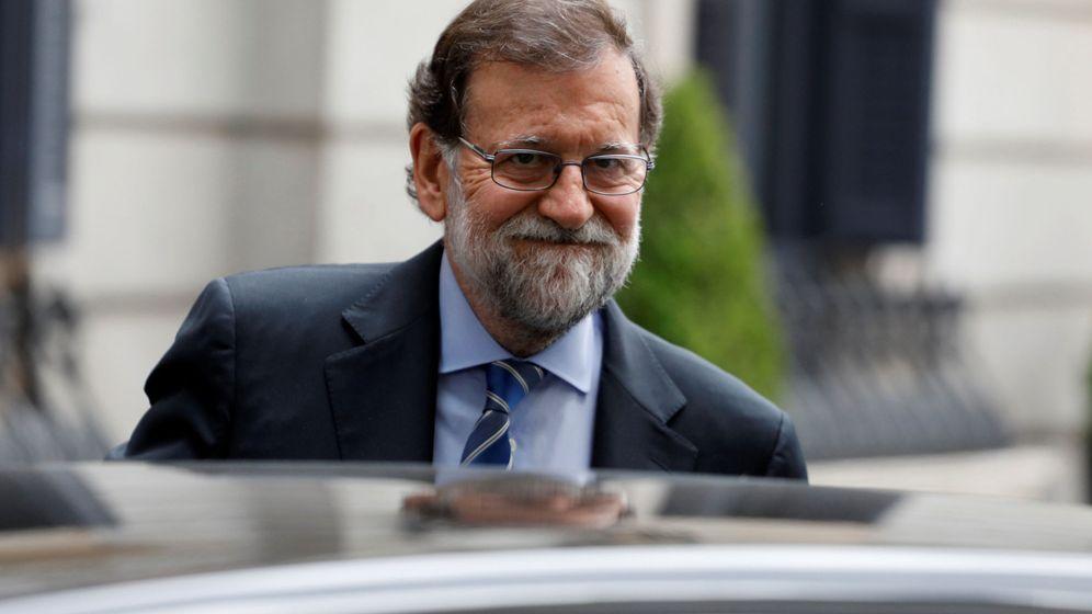 Foto: Mariano Rajoy a la salida del Congreso de los Diputados. (Reuters)