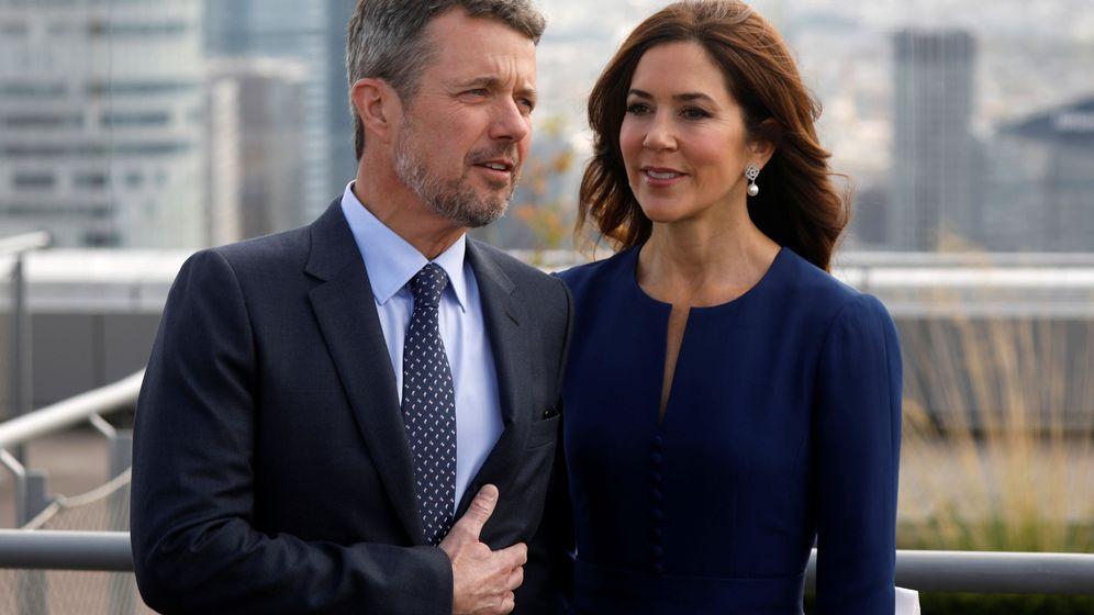 Foto: Federico y Mary de Dinamarca, en París. (Reuters)