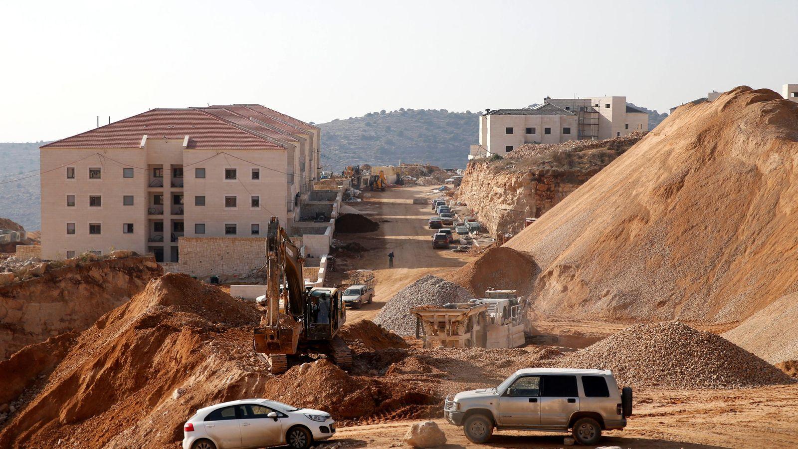 Foto: Asentamiento de Beitar Ilit, en Cisjordania, el 22 de diciembre de 2016 (Reuters)