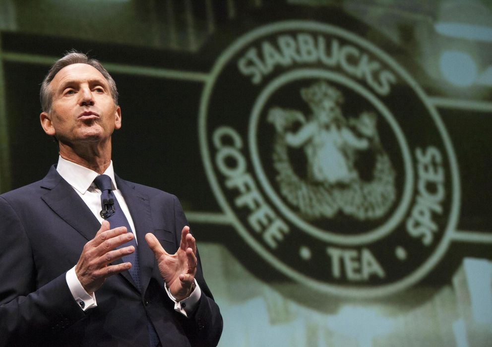 Foto: Howard Schultz, CEO de Starbucks. (Reuters)