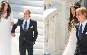 Así fue la primera boda de Andrea  y Tatiana en Mónaco