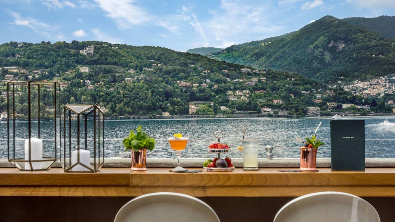 El Infinity Bar del hotel Vista Palazzo. (Cortesía SLH)