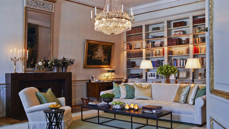 Biblioteca. (Klas Sjöberg / Casa Real de Suecia)