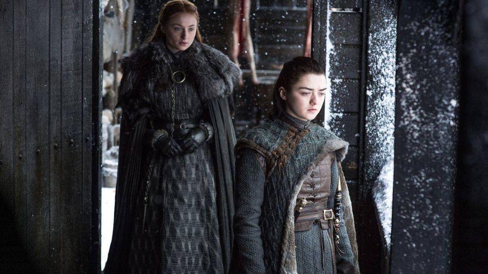 Foto: Sansa y Arya Stark, reunidas en la séptima temporada de 'Juego de Tronos'. (HBO)