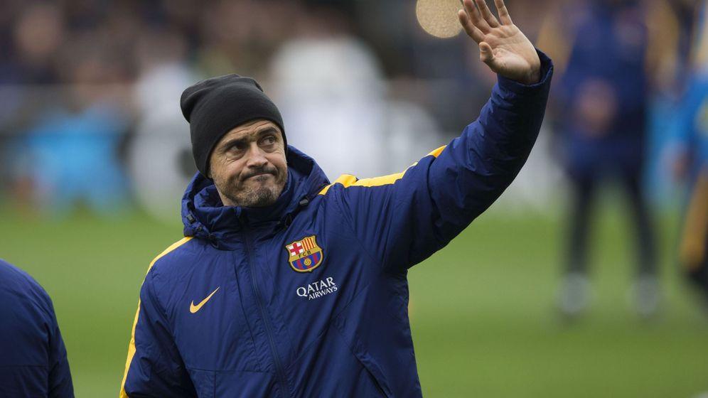 Foto: Luis Enrique hará debutar a sus dos fichajes (EFE).