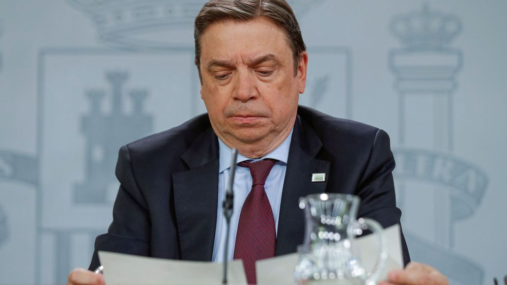 Foto: El ministro de Agricultura, Luis Planas. (EFE)