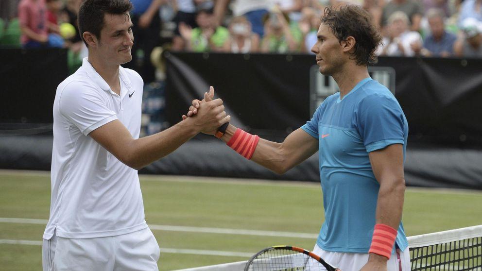 Tomic, el tenista que se deja ganar para cambiar de set (y será pareja de Nadal)