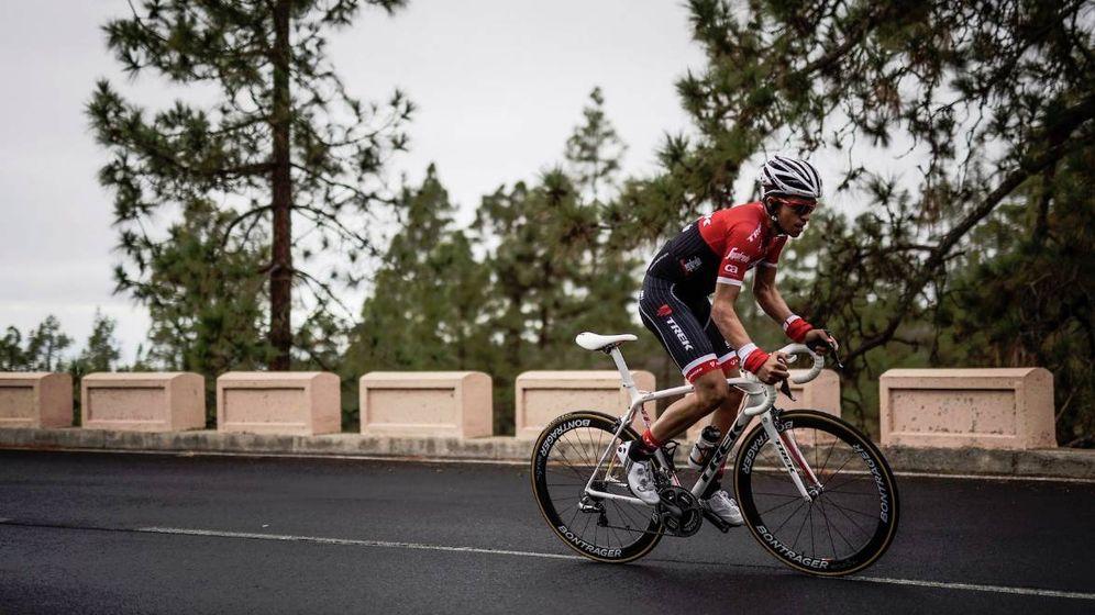 Foto: Contador, en la Vuelta Andalucía (Trek)