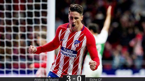 A Fernando Torres es al único que le viene bien un partido de vuelta de Copa
