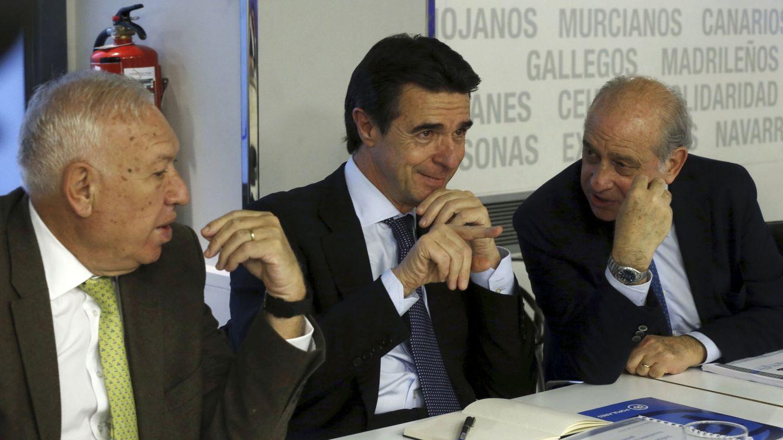 Foto:  Los ministros de Asuntos Exteriores, Industria e Interior