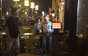 Las sirenas suenan en Tel Aviv