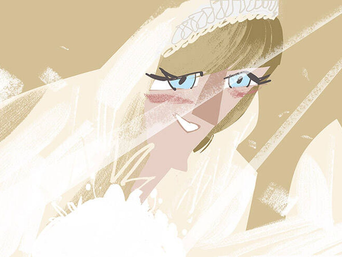 Foto: Ilustración de Diana de Gales. (Jate)