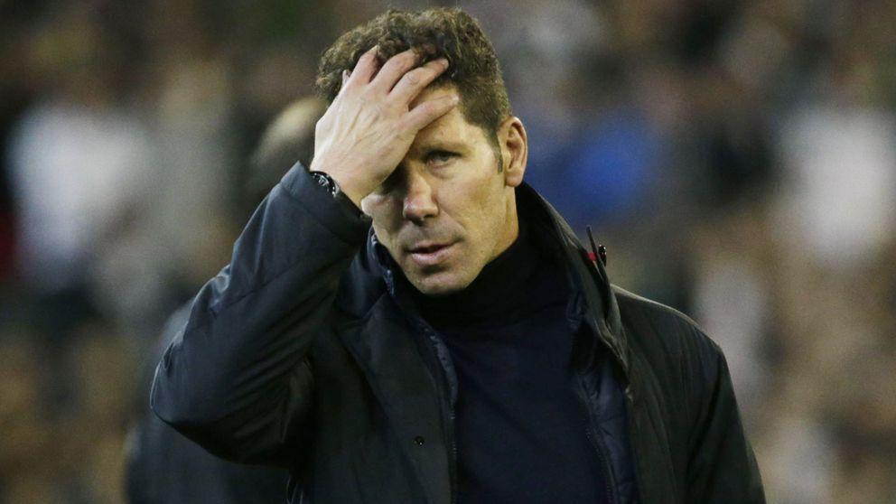 La creciente tensión interna provocará la precoz salida de Simeone del Atlético