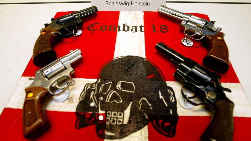 Foto: Armas confiscadas al grupo por parte de la Policía alemana. (Reuters)