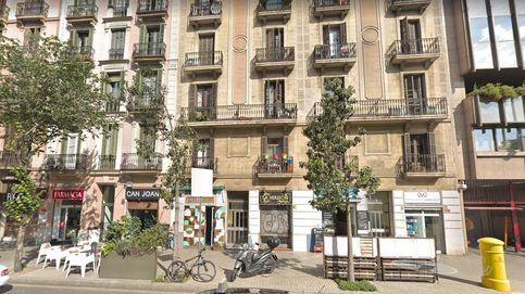 18 personas heridas en el incendio de un edificio en el centro de Barcelona